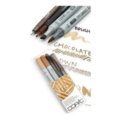 Copic Doodle Pack - 4 Pen Set - Brown
