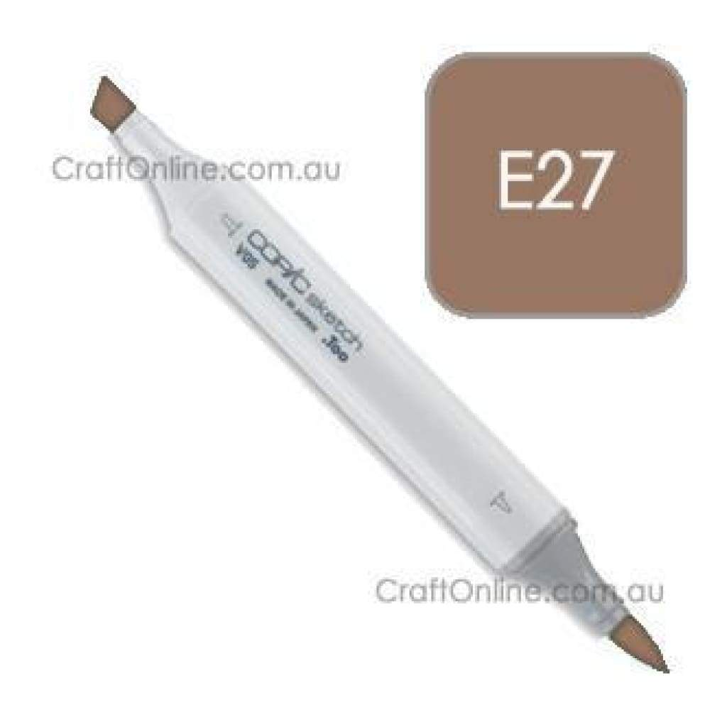 Copic Sketch Marker Pen E27 -  Milk Chocolate