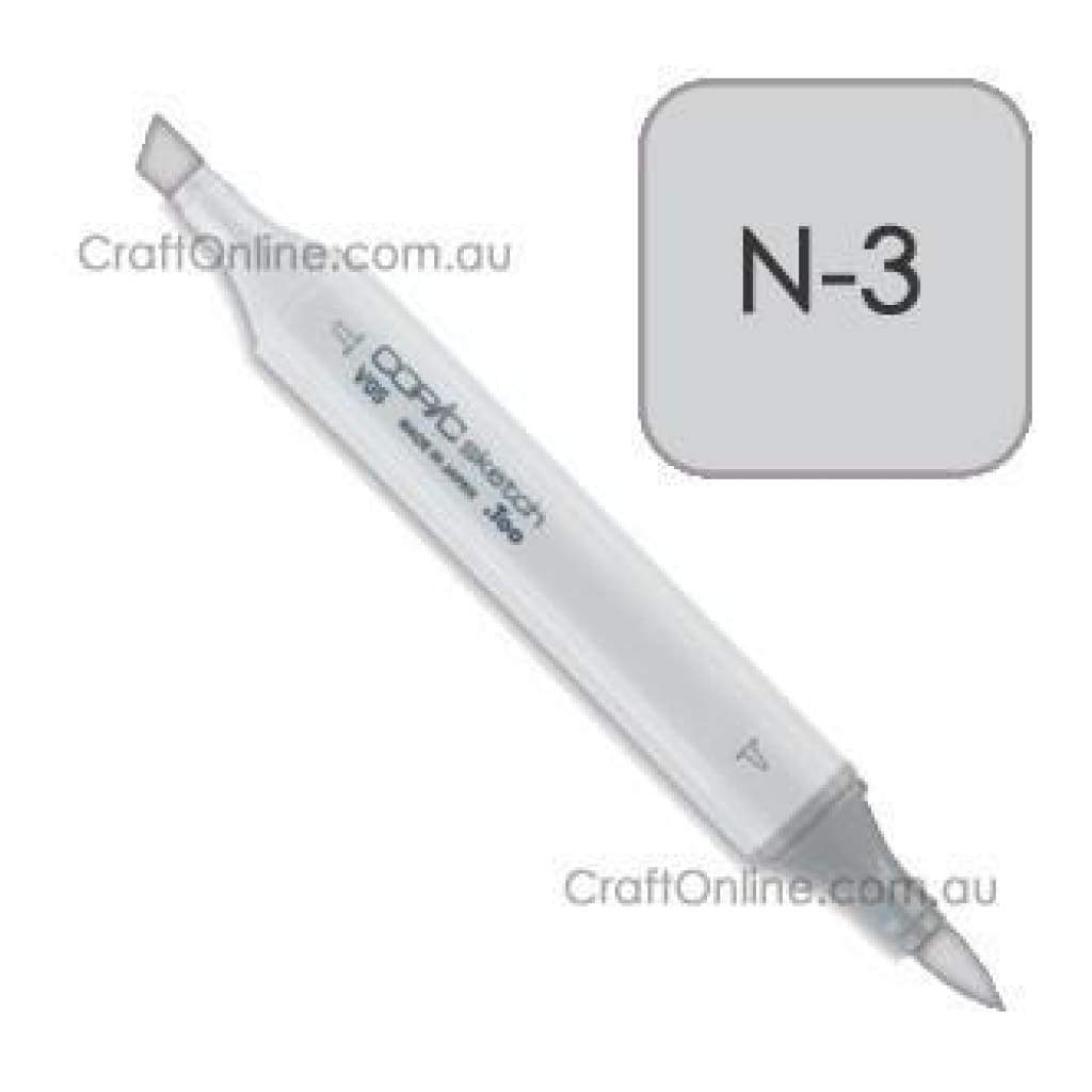 Copic Sketch Marker Pen N-3 -  Neutral Gray No.3
