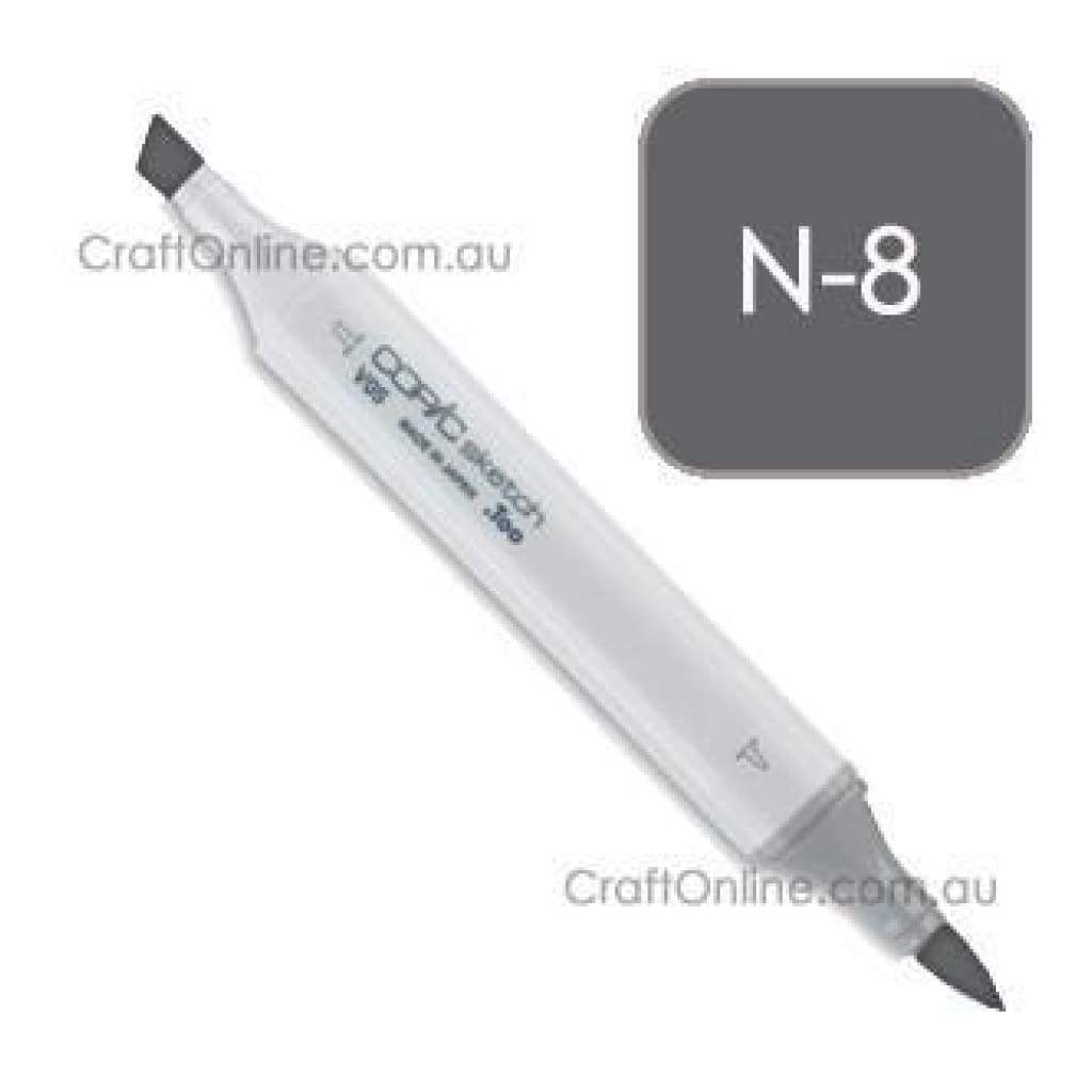 Copic Sketch Marker Pen N-8 -  Neutral Gray No.8