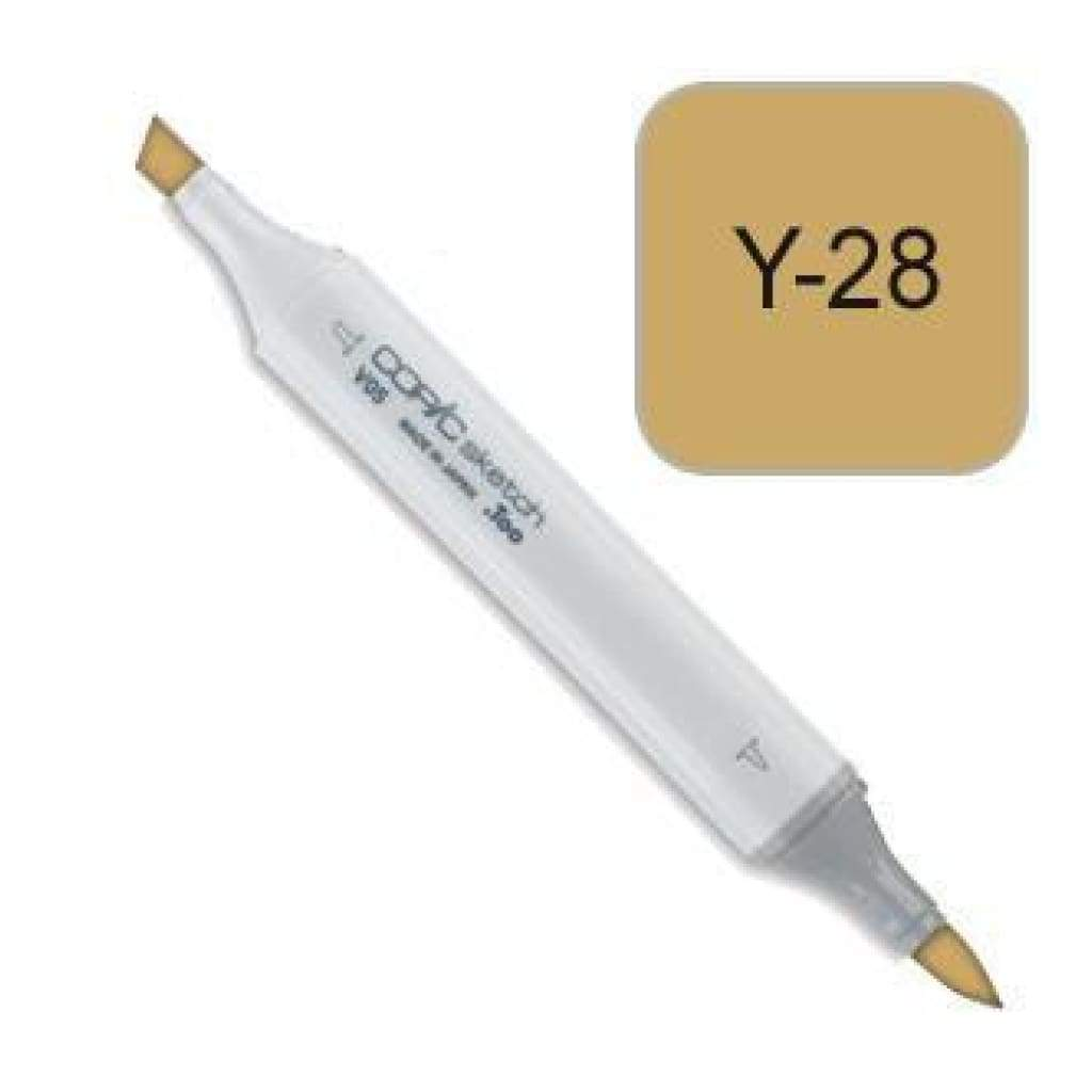 Copic Sketch Marker Pen Y28 -  Lionet Gold
