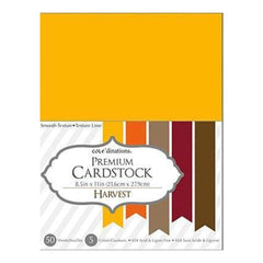 Core'dinations Value Pack Cardstock 8.5 Inch X11 Inch  50 Pack  Harvest