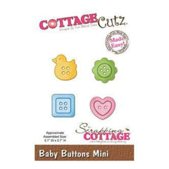 Cottage Cutz - Baby Buttons Mini