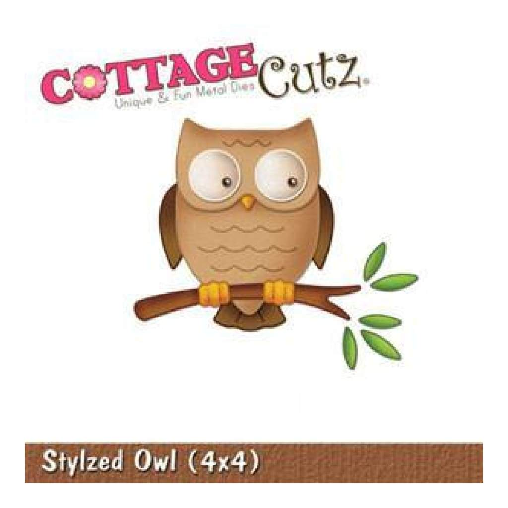 Cottage Cutz - Stylized Owl