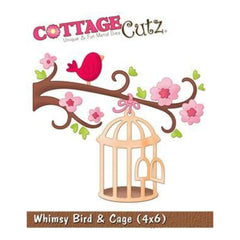 Cottage Cutz - Whimsy Bird Cage