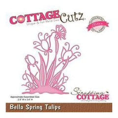 Cottagecutz - Bella Spring Tulips - Elites