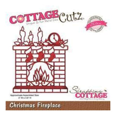 Cottagecutz - Christmas Fireplace - Elites