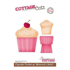 Cottagecutz - Cupcake Pocket With Notecard