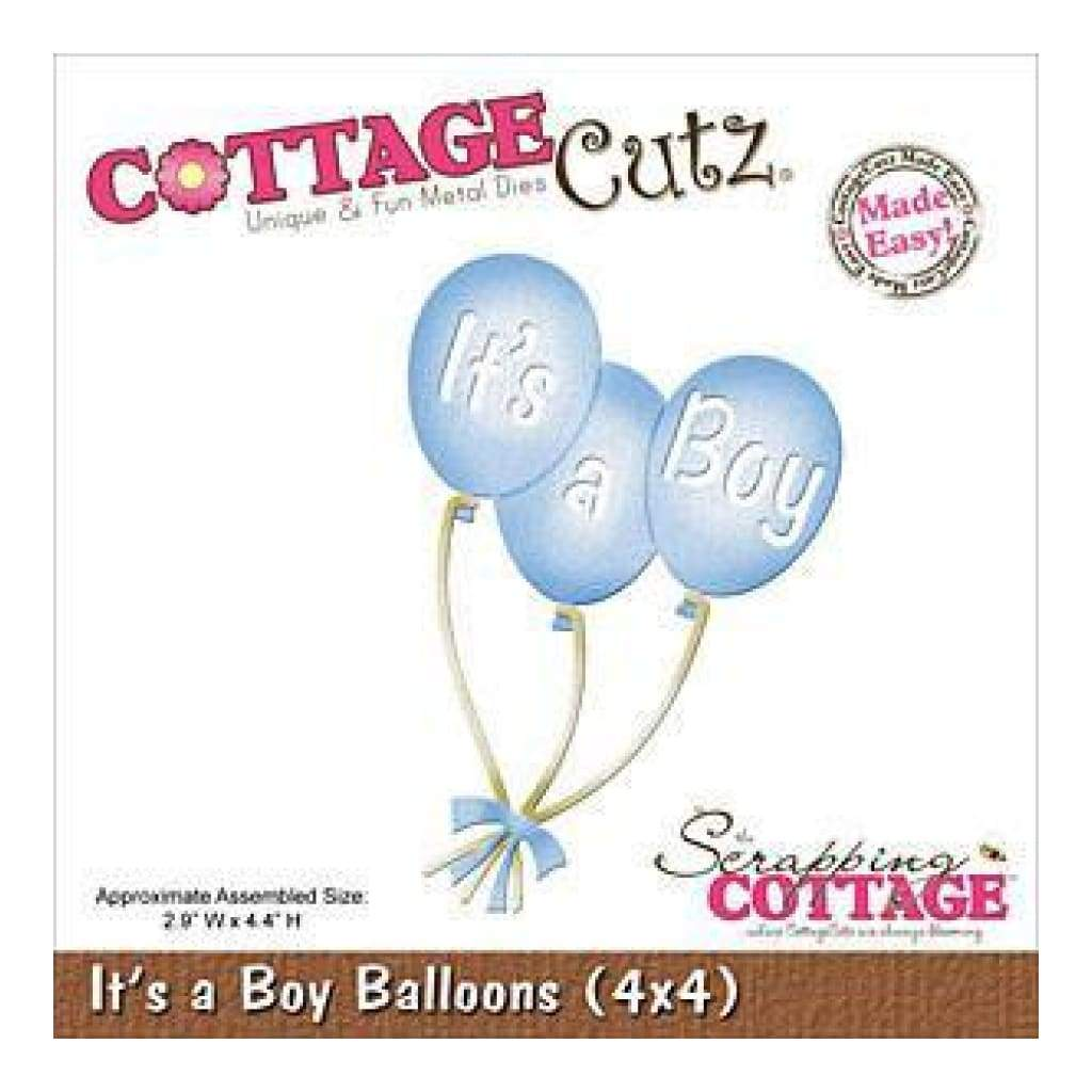 Cottagecutz Die 4X4 Its A Boy Balloons
