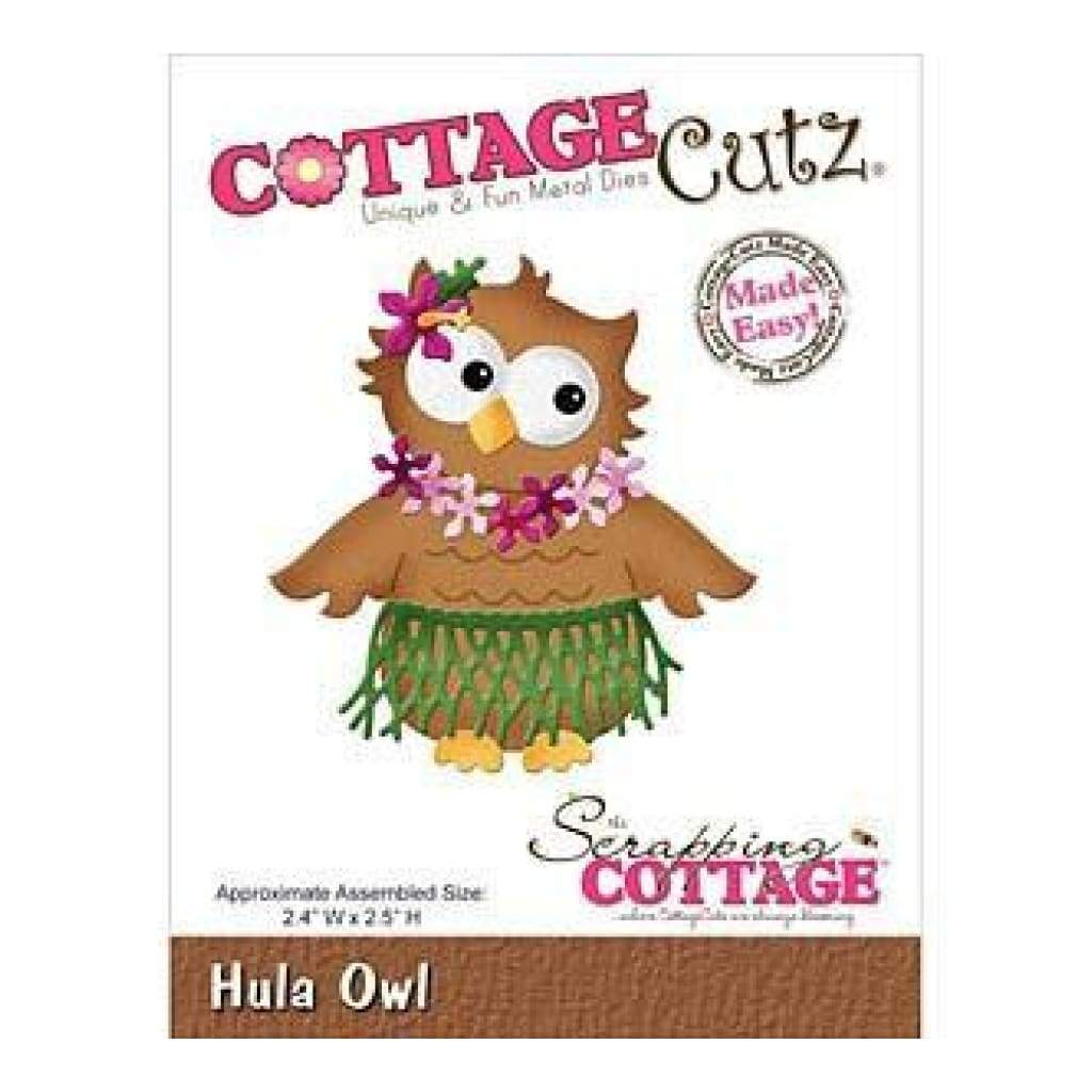 Cottagecutz Die Hula Owl 2.4In. X2.5In.