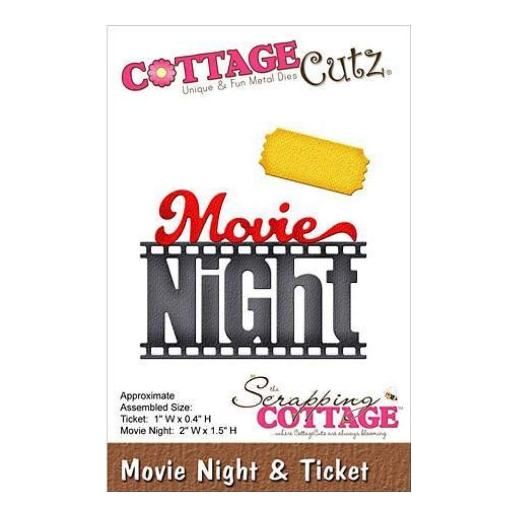 Cottagecutz Die Movie Night & Ticket
