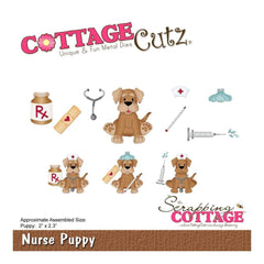 "CottageCutz Die - Puppy 2""""X2.3"""""