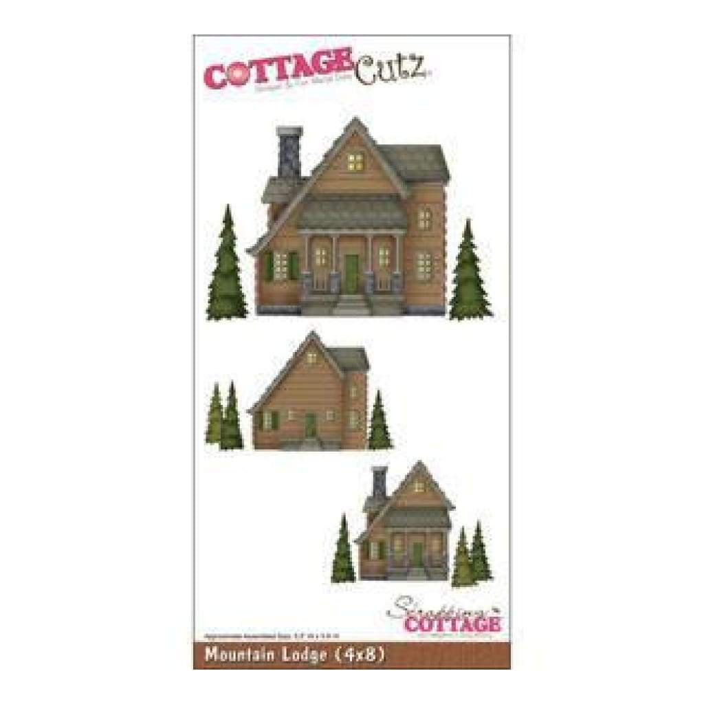 Cottagecutz Die With Foam 4X8 Mountain Lodge