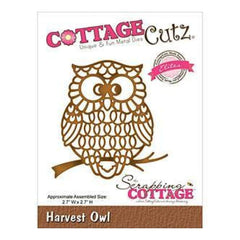 Cottagecutz  - Elites Die - 2.7X2.7 Inches Harvest Owl