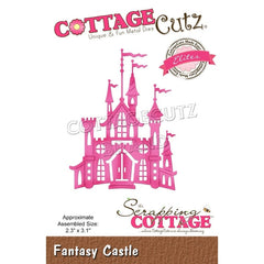 CottageCutz - Elites Die Fantasy Castle 2.3 inch X3.1 inch