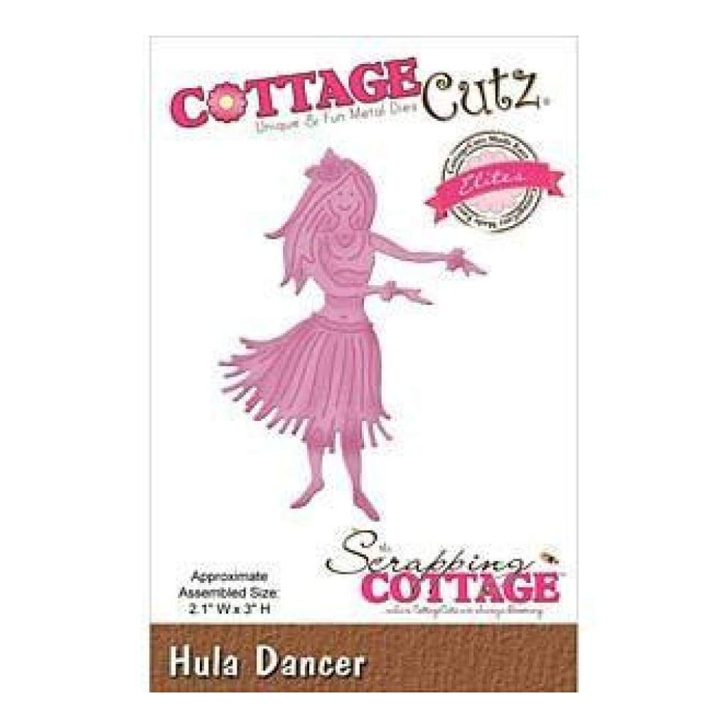 Cottagecutz Elites Die Hula Dancer 2.1In. X3in.