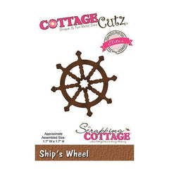 Cottagecutz Elites Die Ships Wheel 1.7Inch X1.7Inch