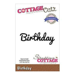 Cottagecutz Expressions Die 2.3X.8 Birthday
