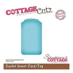 Cottagecutz - Eyelet Insert Card/Tag