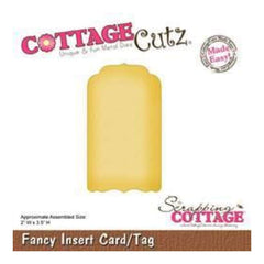 Cottagecutz - Fancy Insert Card/Tag
