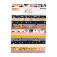 Crate Paper - Maggie Holmes Heritage Collection - 6 x 8 inch Paper Pad with Foil Accents