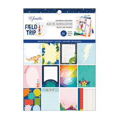 American Crafts - Shimelle Field Trip Collection - 6 x 8 inch Journaling Paper Pad