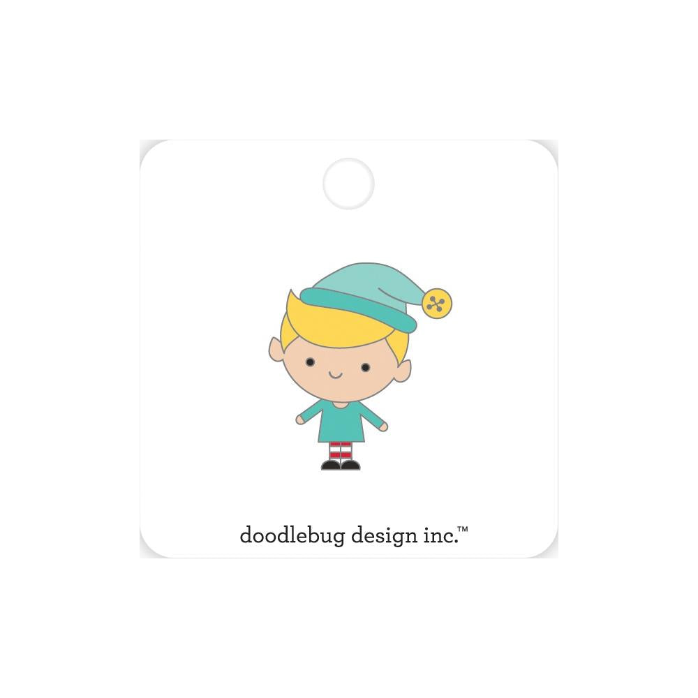 Doodlebug - Collectible Enamel Pin Buddy - Christmas Magic