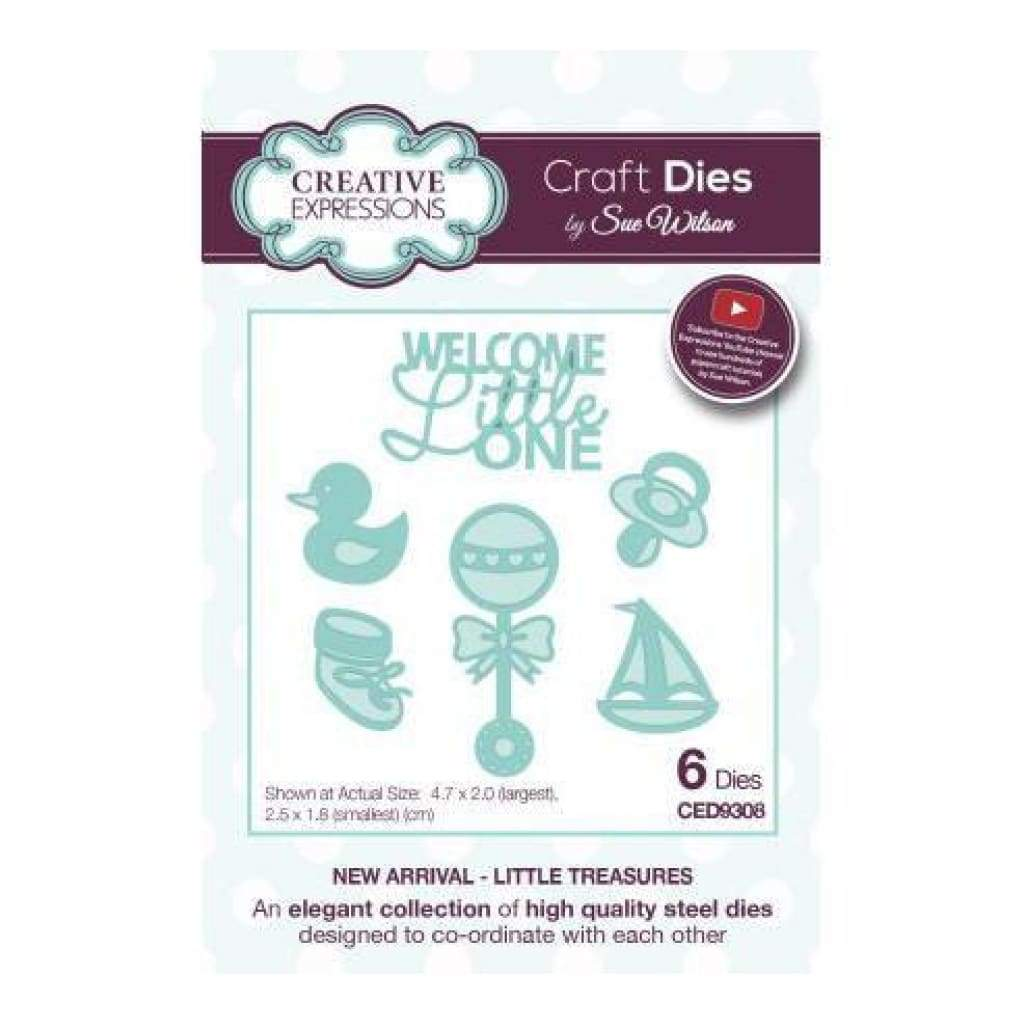 Craft Dies by Sue Wilson - Little Treasures