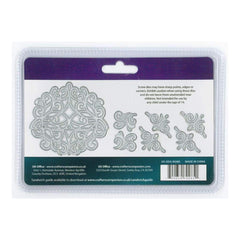 Crafter's Companion - Die'sire Edgeables Metal Dies 7 pack Romantic Swirls