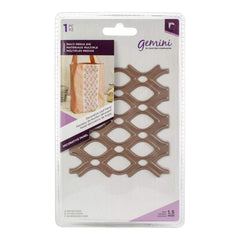 Crafters Companion - Gemini Multi-Media Decorative Panel Die Leaf Panel 4 inch X3.5 inch