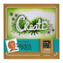 Crafters Companion - Leonie Pujol Masks And Stencils Set Create