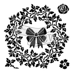 Crafters Workshop Template 6inch X6inch - Big Wreath