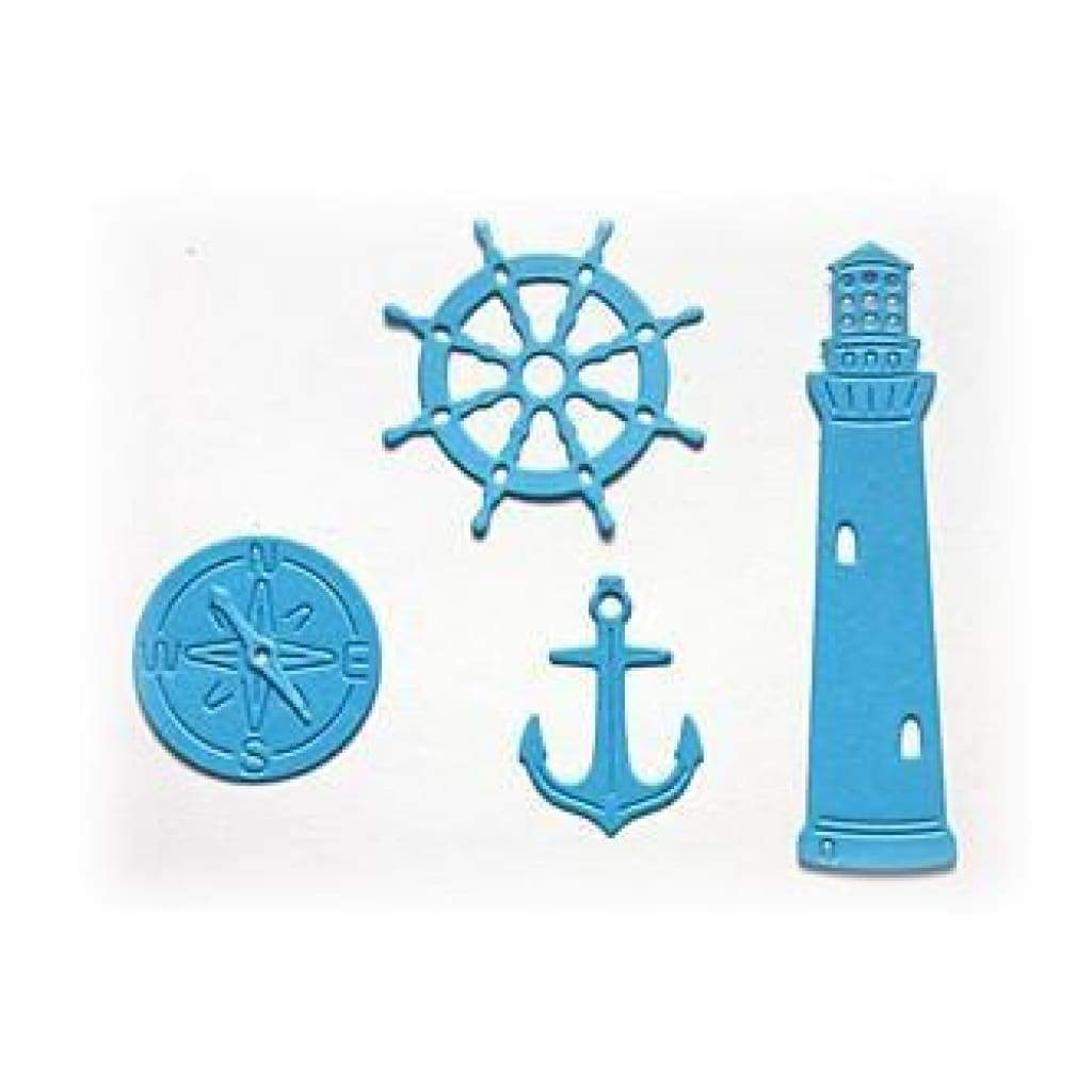 Crafty Ann Dies - Lighthouse - Set Of  5