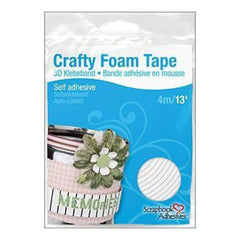 Scrapbook Adhesives Crafty Foam Tape Roll