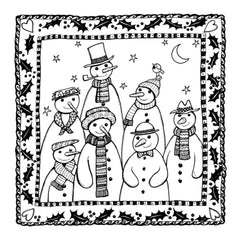 Crafty Individuals Unmounted Rubber Stamp 2.75X3.75 - Family & Friends