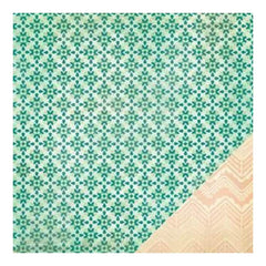 Crate Paper - Close Knit - Abode 12X12 D/Sided Paper   (Single Sheet)