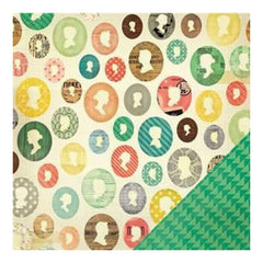 Crate Paper - Close Knit - Ancestors 12X12 D/Sided Paper   (Single Sheet)