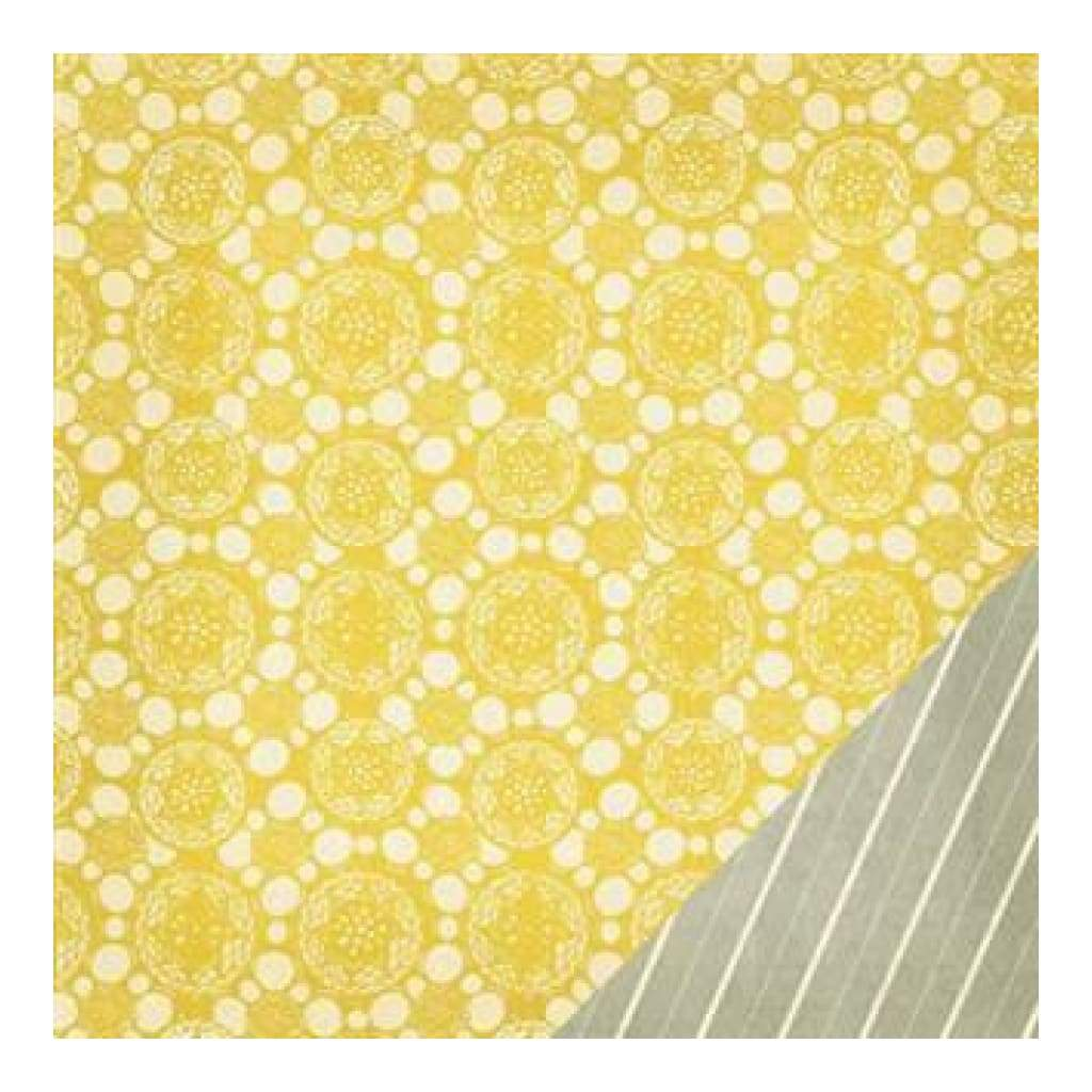 Crate Paper - Close Knit - Fabric 12X12 D/Sided Paper   (Single Sheet)