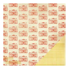 Crate Paper - Close Knit - Remember 12X12 D/Sided Paper   (Single Sheet)
