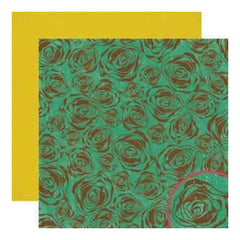 Crate Paper - Cottage - Bloom 12X12 D/Sided Paper (Pack Of 10)