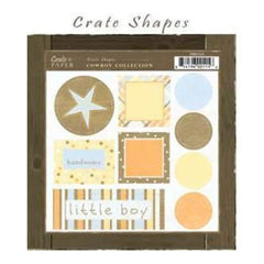 Crate Paper - Cowboy Shapes Diectus