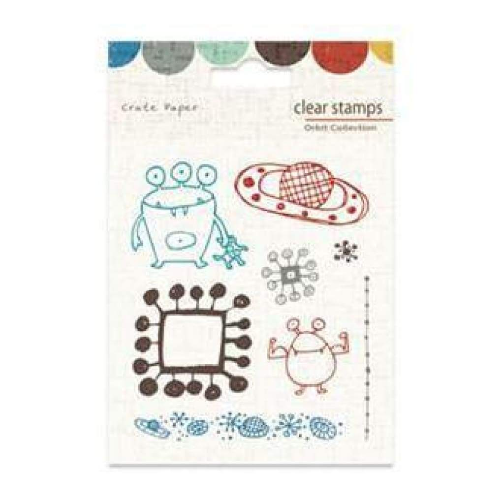 Crate Paper - Orbit - Clear Stamps