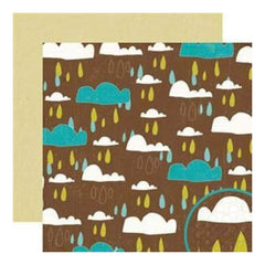 Crate Paper - Season - Shower 12X12 D/Sided Paper (Pack Of 10)