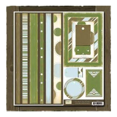 Crate Paper - Taylor Crate Bands- Tags & Frames