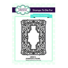 Creative Expressions Cling Stamps - Jennifers Frame