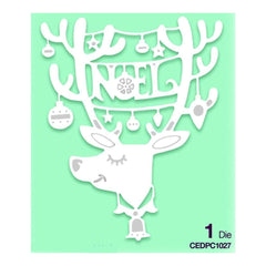 Creative Expressions Lisa Horton - Paper Cuts Collection Noel Rudolf Craft Die