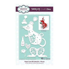 Creative Expressions - Paper Cuts 3D Collection Mouse die set