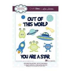 Creative Expressions Stitched Die Lisa Horton Collection - Out of this world