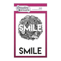 Creative Stamps Focal A6 Stamp - Smile