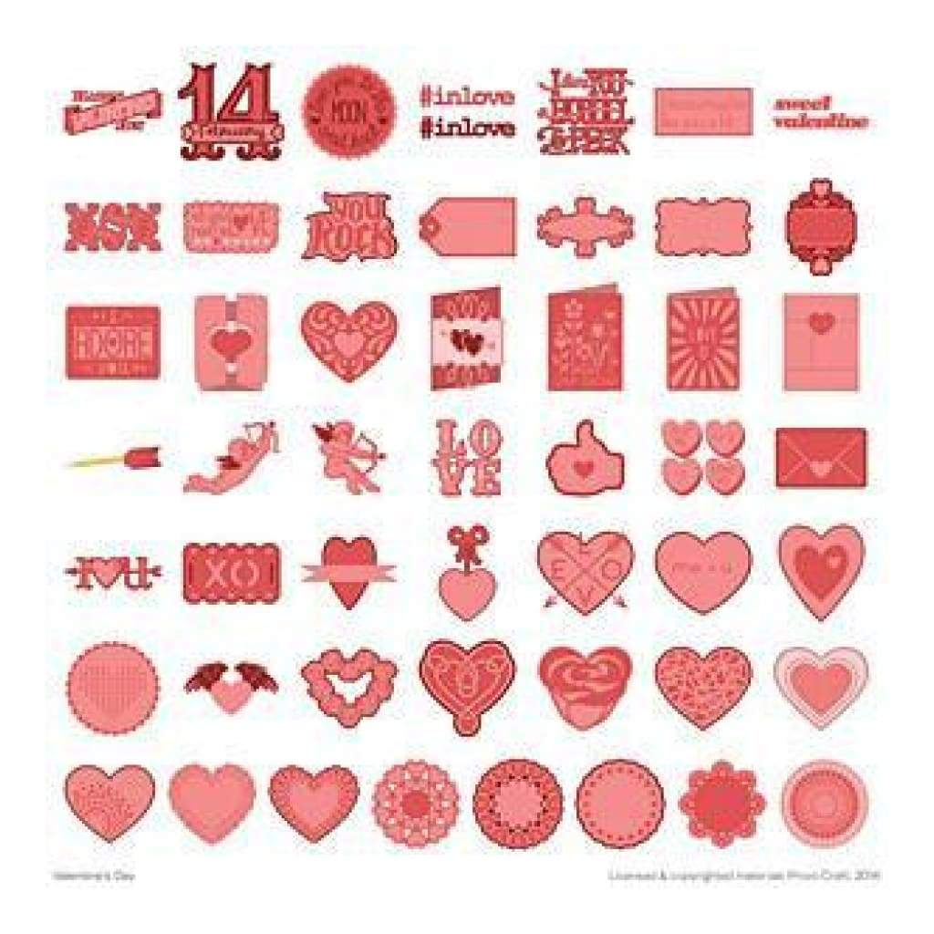 Cricut Shape Cartridge Valentine